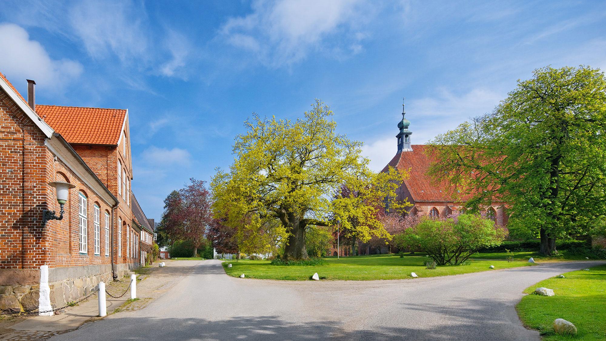 Pohnsdorf Weihnachtsmarkt.Adeliges Kloster Preetz